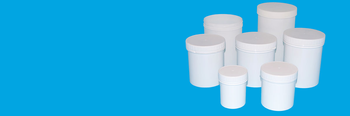 Tamper Evident Plastic Container Pots and Jars